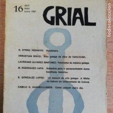 Coleccionismo de Revistas y Periódicos: GRIAL N° 16. 1967. Lote 191231763