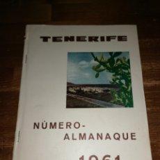 Coleccionismo de Revistas y Periódicos: SEMANARIO TENERIFE, ALMANAQUE 1961 - PUBLICIDAD VESPA 400.. Lote 191267796