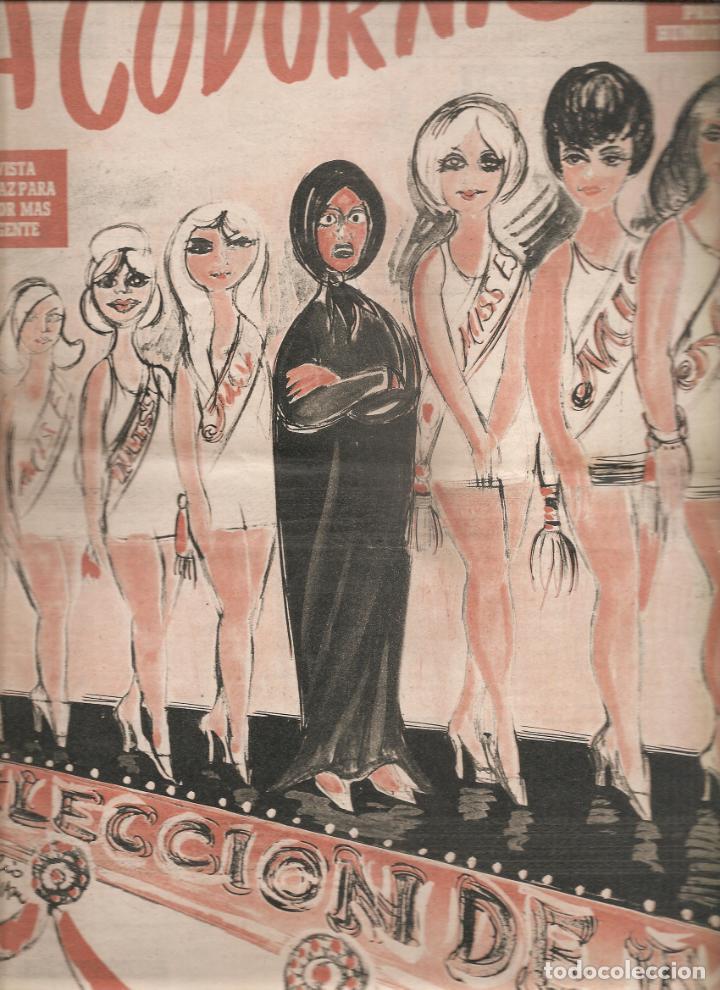 866. LA CODORNIZ 21 DE JULIO DE 1963. Nº1131 (Coleccionismo - Revistas y Periódicos Modernos (a partir de 1.940) - Otros)