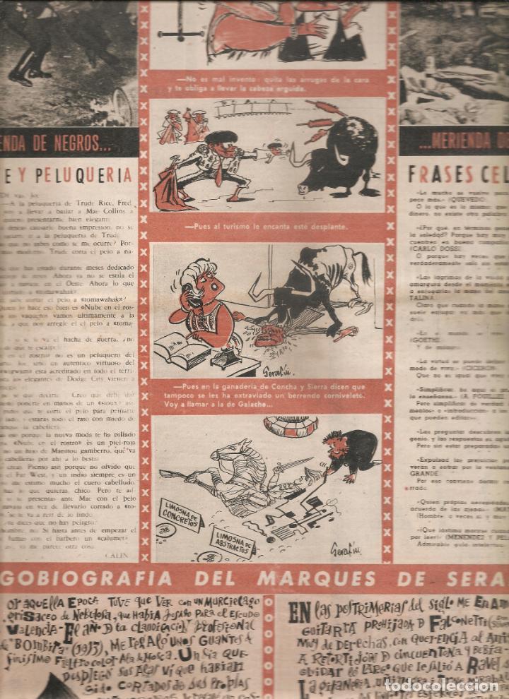 Coleccionismo de Revistas y Periódicos: 866. LA CODORNIZ 21 DE JULIO DE 1963. Nº1131 - Foto 2 - 191294833