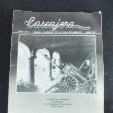 Coleccionismo de Revistas y Periódicos: REVISTA DE LA VILLA DE AGUILAR DE CAMPOO ENTREVISTA A. FONTANEDA. Lote 191298185