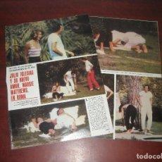 Coleccionismo de Revistas y Periódicos: JULIO IGLESIAS NUEVO AMOR MARGIE MATTHEWS -3 PAG.-RECORTE REVISTA SEMANA AÑO 1984. Lote 191323188