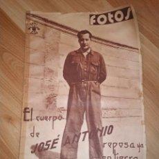 Coleccionismo de Revistas y Periódicos: FOTOS, SEMANARIO GRAFICO NACIONALSINDICALISTA. NUMERO 112, 22 DE ABRIL DE 1939. . Lote 191331398