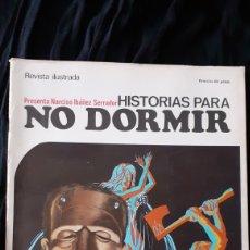 Coleccionismo de Revistas y Periódicos: HISTORIAS PARA NO DORMIR. NARCISO IBÁÑEZ SERRADOR. NO. 8. 1970.. Lote 191339106