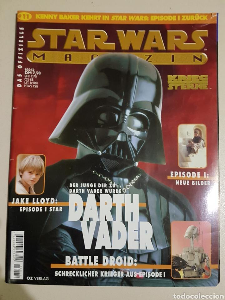 STAR WARS MAGAZIN 11 - DAS OFIZIELLE - EN ALEMÁN (Coleccionismo - Revistas y Periódicos Modernos (a partir de 1.940) - Otros)