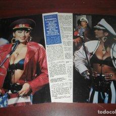 Coleccionismo de Revistas y Periódicos: SABRINA - ENTREVISTA - RECORTE 3 PAG. - REVISTA SEMANA -AÑO 1989. Lote 191408013