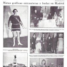 Colecionismo de Revistas e Jornais: 1928 HOJA REVISTA TENOR ESPAÑOL JESÚS GAVIRIA TRIUNFA EN ROMA CON ÓPERA DE VERDI 'EL TROVADOR'. Lote 191448668