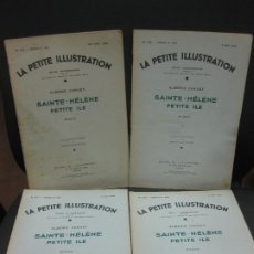 Coleccionismo de Revistas y Periódicos: LE PETITE ILLUSTRATION Nº 575,576,577,578..ALBERIC CAHUET. SAIN-HELENE PETITE ILE.1932. Lote 191472308