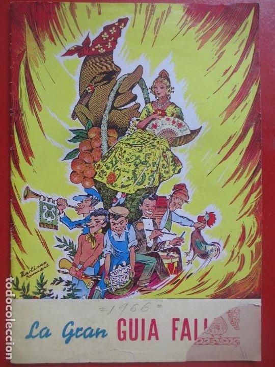 REVISTA FALLERA LA GRAN GUIA FALLERA 1966 BAYARRI FALLAS VALENCIA F31 (Coleccionismo - Revistas y Periódicos Modernos (a partir de 1.940) - Otros)