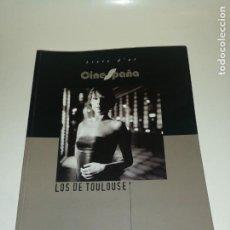 Coleccionismo de Revistas y Periódicos: JUIEN FELIX, SYLVAIN SUQUET , 2002 LOS DE TOULOUSE , LIVRE D'OR CINESPAÑA , FOTOS CINE ESPAÑOL..... Lote 191848983