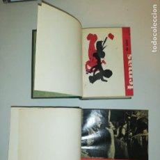 Coleccionismo de Revistas y Periódicos: TEMAS DE CINE , 1960-1961 Y 1961-1962 COMPLETOS ENCUADERNADOS , VER FOTOS. Lote 191849222