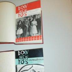 Coleccionismo de Revistas y Periódicos: DOCUMENTOS CINEMATOGRAFICOS, 1960 , 1963 COMPLETOS , ENCUADERNADOS. Lote 191849341