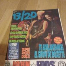 Colecionismo de Revistas e Jornais: ROXETTE FREDDIE MERCURY LED ZEPPELIN REVISTA ARGENTINA 1992. Lote 191863411