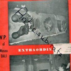 Coleccionismo de Revistas y Periódicos: SEMANARIO V P FIGUERAS 1963 EMPIEZA LA CONSTRUCCION DEL MUSEO SALVADOR DALI EN PORTADA ARMENTERA. Lote 192022282