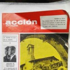 Coleccionismo de Revistas y Periódicos: REVISTA ACCIÓN ANTONIANA FEBRERO 1971 LOS REYES EN LA CASA BLANCA. Lote 192132287