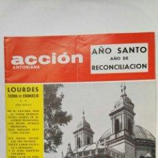 Coleccionismo de Revistas y Periódicos: REVISTA ACCIÓN ANTONIANA ENERO 1974. Lote 192132520