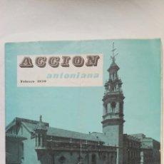 Coleccionismo de Revistas y Periódicos: REVISTA ACCIÓN ANTONIANA FEBRERO 1970. Lote 192132730