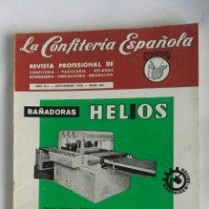 Coleccionismo de Revistas y Periódicos: REVISTA LA CONFITERÍA ESPAÑOLA NOVIEMBRE 1970. Lote 192134306