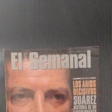 Coleccionismo de Revistas y Periódicos: EL SUPLEMENTO SEMANAL. SUAREZ HISTORIA DE UN LINCHAMIENTO. Lote 192357103