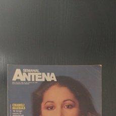 Coleccionismo de Revistas y Periódicos: ANTENA SEMANAL. ISABEL PANTOJA. Lote 192357243