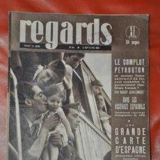 Collezionismo di Riviste e Giornali: REVISTA ESPAÑA GUERRA CIVIL 1936 , FOTOGRAFIAS DE LA GUERRA , ROBERT CAPA , REGARDS. Lote 192564948
