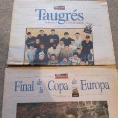 Collezionismo di Riviste e Giornali: PERIODICO FINAL DE LA COPA DE EUROPA MARZO 1996 TAU BALONCESTO. Lote 192639363