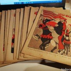 Coleccionismo de Revistas y Periódicos: LOTE DE 12 REVISTAA CU-CUT AÑO 1914 VER NUMEROS DISPONIBLES EN DESCRIPCION. DEL 17 AL 35.. Lote 192758788