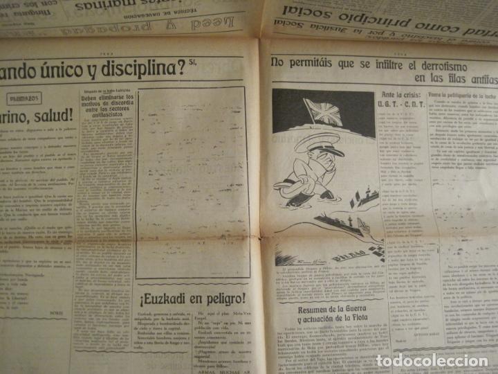 Coleccionismo de Revistas y Periódicos: GUERRA CIVIL-PROA-Nº1-BARCELONA AÑO 1937-OBREROS SOLDADOS Y MARINOS-VER FOTOS-(V-18.846) - Foto 9 - 192822787
