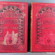 Colecionismo de Revistas e Jornais: LA ILUSTRACIÓN ESPAÑOLA Y AMERICANA AÑO 1904 2 TOMOS REVISTA ENCUADERNADA 48 NÚMEROS. Lote 192893853