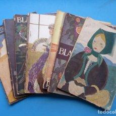 Coleccionismo de Revistas y Periódicos: BLANCO Y NEGRO, 11 ANTIGUAS REVISTAS, AÑOS 1910-20-30 - VER FOTOS ADICIONALES. Lote 192971061