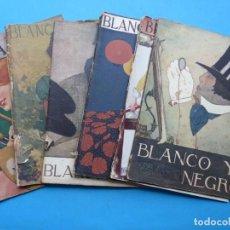 Coleccionismo de Revistas y Periódicos: BLANCO Y NEGRO, 7 ANTIGUAS REVISTAS, AÑO 1919 - VER FOTOS ADICIONALES. Lote 192972122