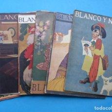 Coleccionismo de Revistas y Periódicos: BLANCO Y NEGRO, 6 ANTIGUAS REVISTAS, AÑO 1919 - VER FOTOS ADICIONALES. Lote 192972405