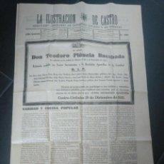 Coleccionismo de Revistas y Periódicos: LA ILUSTRACIÓN DE CASTRO. CASTRO URDIALES. CANTABRIA. DICIEMBRE 1935.. Lote 193063430