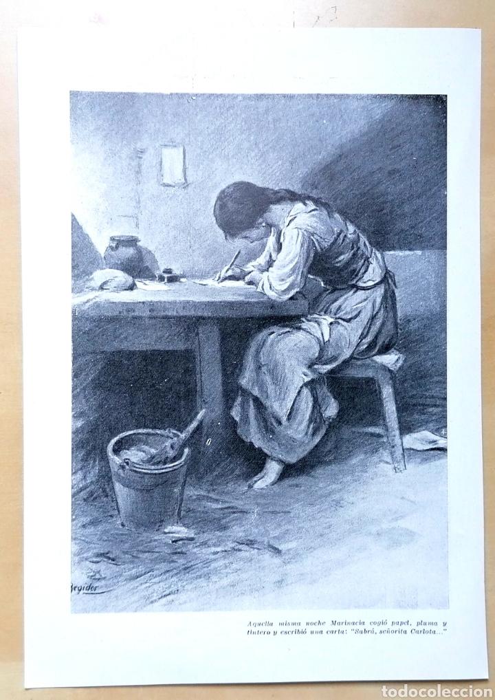 GRABADO, ILUSTRACIÓN DE REGIDOR - MUJER EN EL HOGAR, 1919 (Coleccionismo - Revistas y Periódicos Antiguos (hasta 1.939))