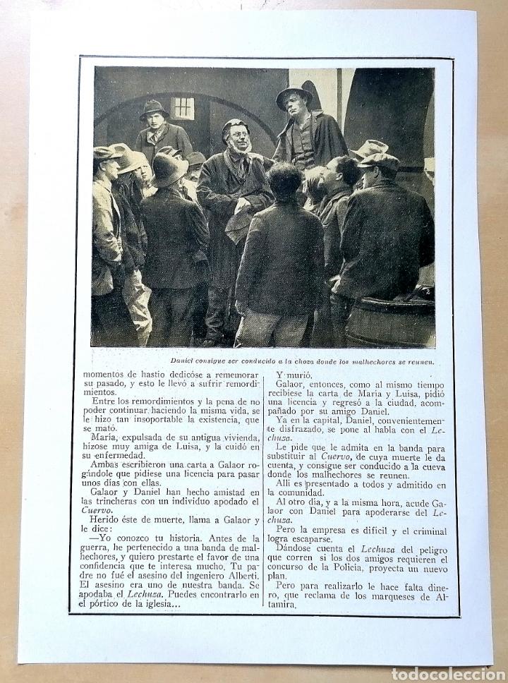 Coleccionismo de Revistas y Periódicos: 4 hojas / ¡Justicia!, Cinemadrama de Paul Richefort, impresionado casa Ambrosio Film, Turin - 1919 - Foto 6 - 193181575
