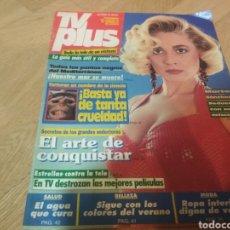 Coleccionismo de Revistas y Periódicos: TVPLUS REVISTA 1991 MARTA SÁNCHEZ CHER MADONNA XUXA. Lote 193450528