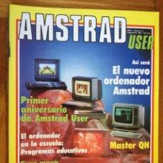 Coleccionismo de Revistas y Periódicos: REVISTA ORDENADOR AMSTRAD USER Nº 12 SEPTIEMBRE AÑO 1986,. Lote 193641995
