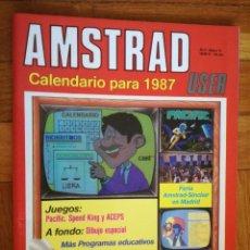 Coleccionismo de Revistas y Periódicos: REVISTA ORDENADOR AMSTRAD USER Nº 16 CALENDARIO PARA EL AÑO 1987. Lote 193642690