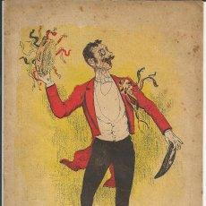 Coleccionismo de Revistas y Periódicos: BARCELONA CÓMICA Nº 4, ENERO 1895 - PORTADA UTRILLO - CONSERVATORIO DEL LICEO. Lote 193662550
