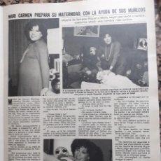 Coleccionismo de Revistas y Periódicos: MARY CARMEN Y SUS MUÑECOS MARI DOÑA ROGELIA. Lote 278639603