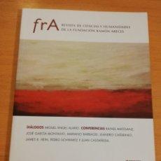 Coleccionismo de Revistas y Periódicos: REVISTA DE CIENCIAS Y HUMANIDADES DE LA FUNDACIÓN RAMÓN ARECES Nº 3. Lote 193974092