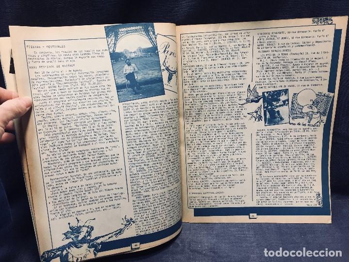 Coleccionismo de Revistas y Periódicos: 9 revistas mensual ajoblanco encuentro difusión contracultura españa año 1977 1978 - Foto 2 - 193985167