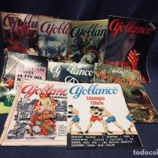 Coleccionismo de Revistas y Periódicos: 9 REVISTAS MENSUAL AJOBLANCO ENCUENTRO DIFUSIÓN CONTRACULTURA ESPAÑA AÑO 1977 1978. Lote 193985167