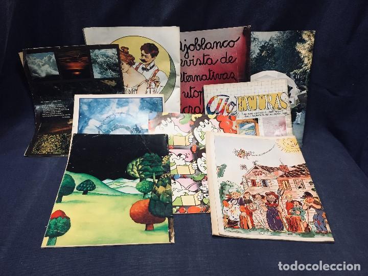 Coleccionismo de Revistas y Periódicos: 9 revistas mensual ajoblanco encuentro difusión contracultura españa año 1977 1978 - Foto 3 - 193985167