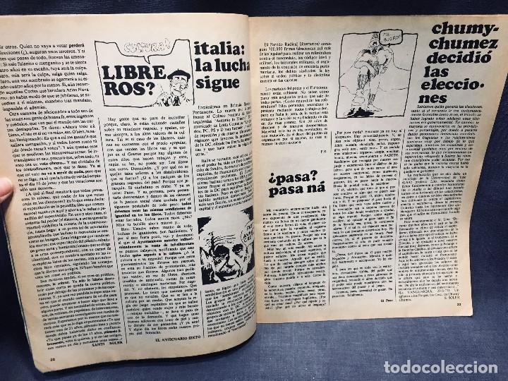 Coleccionismo de Revistas y Periódicos: 9 revistas mensual ajoblanco encuentro difusión contracultura españa año 1977 1978 - Foto 7 - 193985167