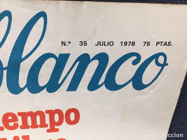 Coleccionismo de Revistas y Periódicos: 9 revistas mensual ajoblanco encuentro difusión contracultura españa año 1977 1978 - Foto 8 - 193985167