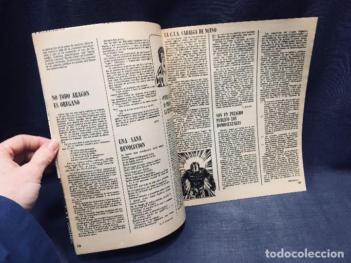 Coleccionismo de Revistas y Periódicos: 9 revistas mensual ajoblanco encuentro difusión contracultura españa año 1977 1978 - Foto 12 - 193985167