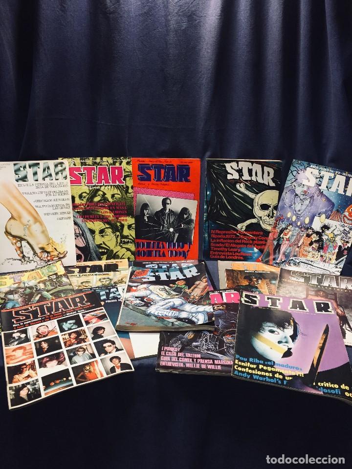 REVISTA STAR SOLO ADULTOS 1976 1979 15 NUMEROS 30X21CMS (Coleccionismo - Revistas y Periódicos Modernos (a partir de 1.940) - Otros)