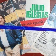 Coleccionismo de Revistas y Periódicos: ENTREVISTA A ALFREDO FRAILE JULIO IGLESIAS SE SEPARA POR 2ª VEZ- RECORTE 4 PAG. -INTERVIU AÑO 1984-. Lote 214576740