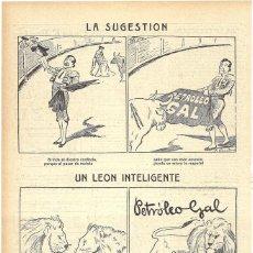 Coleccionismo de Revistas y Periódicos: 1911 HOJA REVISTA PUBLICIDAD ANUNCIO RECORTE DE PRENSA PERFUMERÍA PETROLEO GAL CUIDADO DEL CABELLO. Lote 194197526